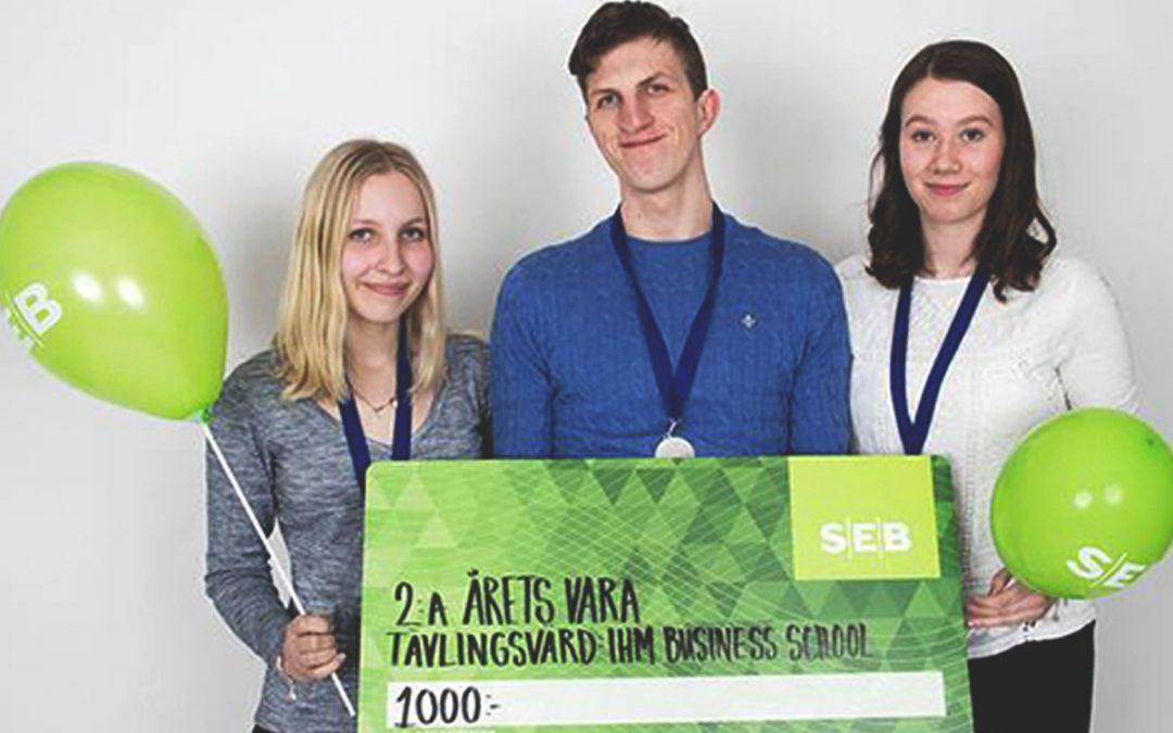 Elever från både Odenplan och Djursholm står som vinnare under årets UF-mässa