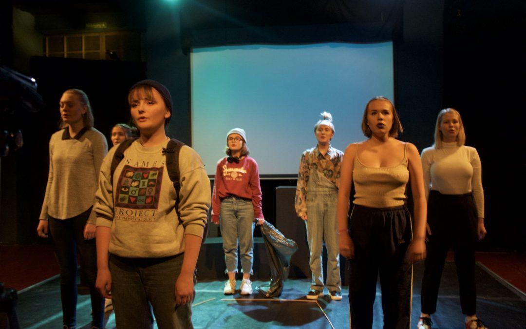 Teaterelever uttagna till LÄNKs nationella festival på Riksteatern i Hallunda.