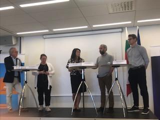 Lärare från Odenplan i paneldebatt på Europahuset