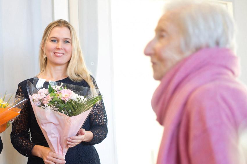 Charlotta Granath vinner Hédi Frieds lärarstipendium