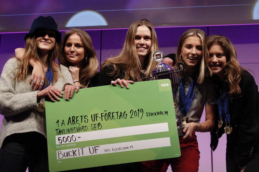 Flera vinster på årets UF-mässa