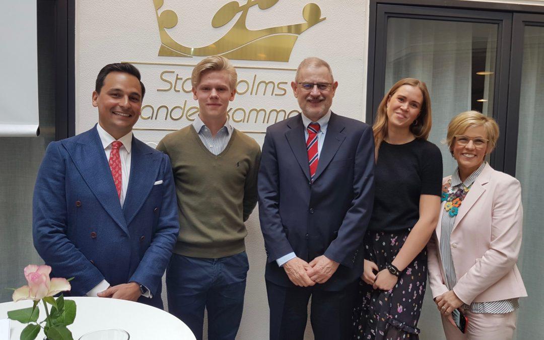 Djursholms elev vann Stockholms Årets Samhällstjänst