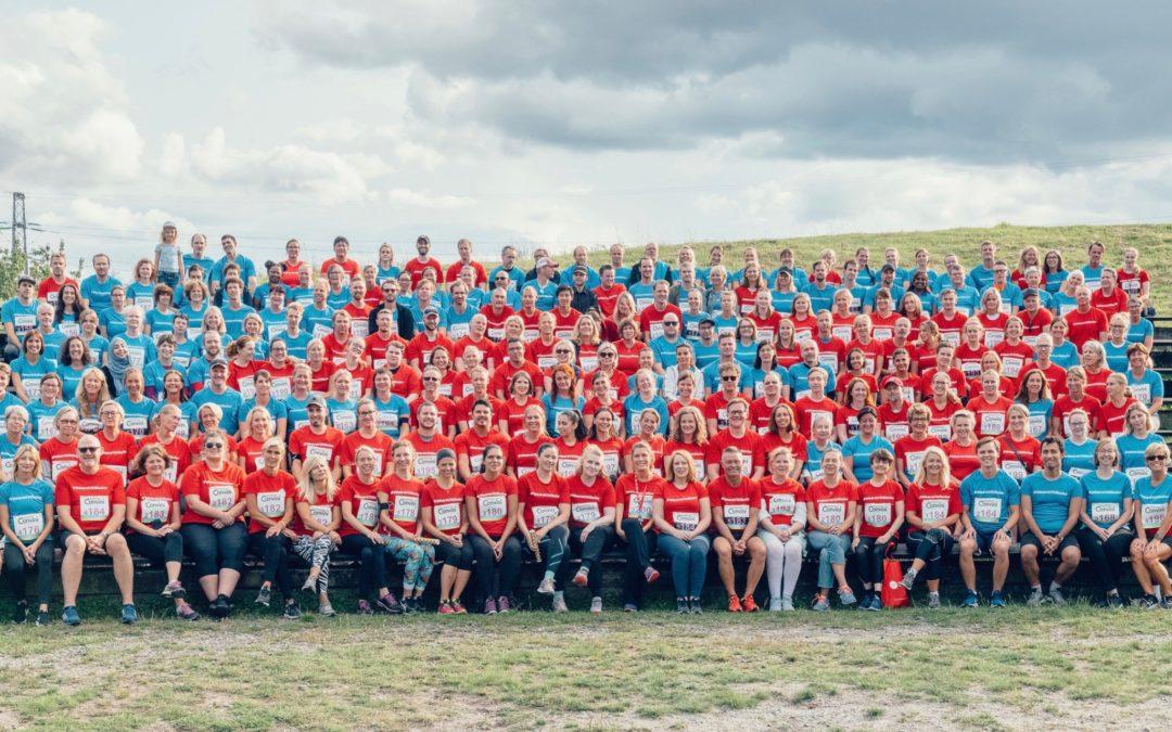 All personal inom VR deltog i Stafesten 2019
