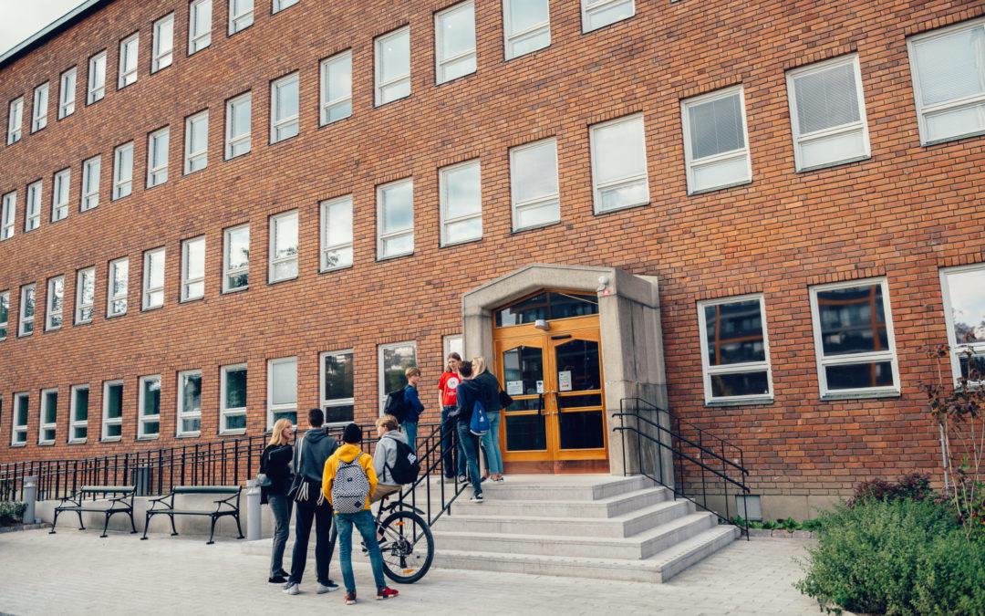 Invigningsceremoni på VR Campus Sundbyberg
