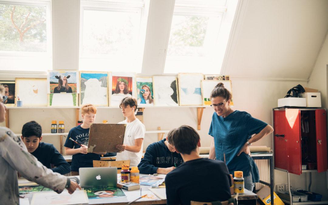 Kreativa parafraser i bildundervisningen på VRS Djursholm