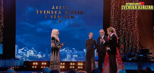 Israa Abdali är skolsköterska på VR Campus Sundbyberg och Årets Svenska Hjälte i Världen