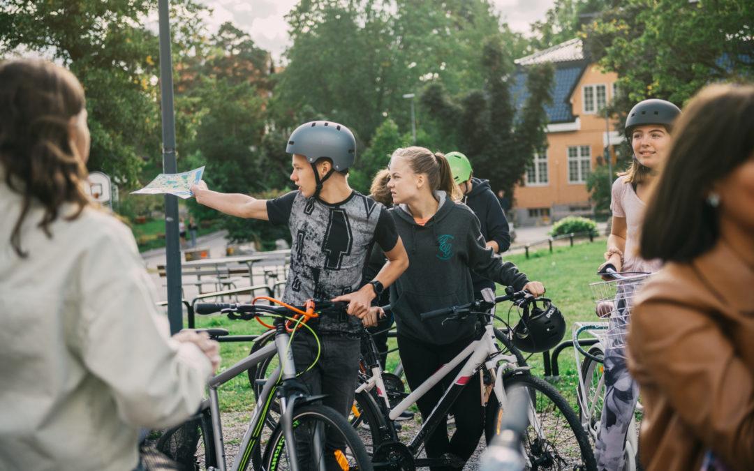 Cykelvänligast medarbetare på VRS Djursholm