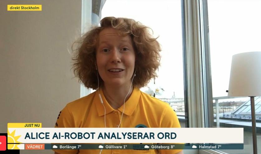 VRG Odenplan-eleven Alice Heiman tar plats i Sveriges Unga Forskningslandslag för sitt AI-projekt om genus i litteratur