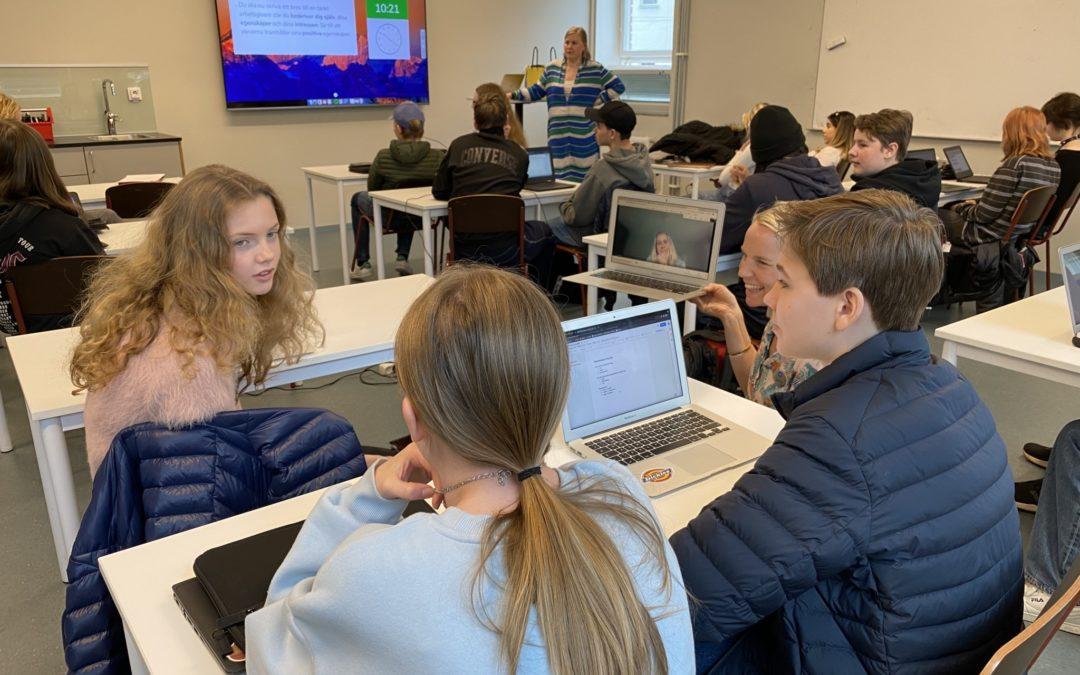Skolverket besöker VRS Sundbybergs teoretiska PRAO
