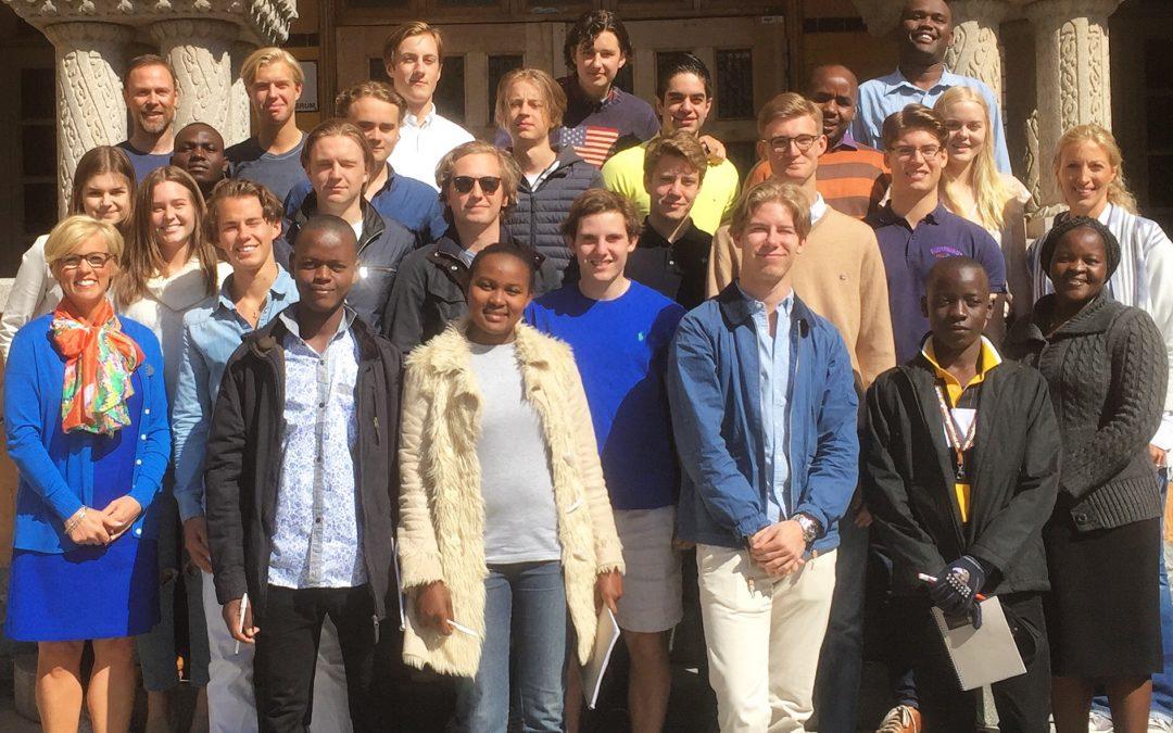 Kenyan students and VRG students connect via Entrepreneurship