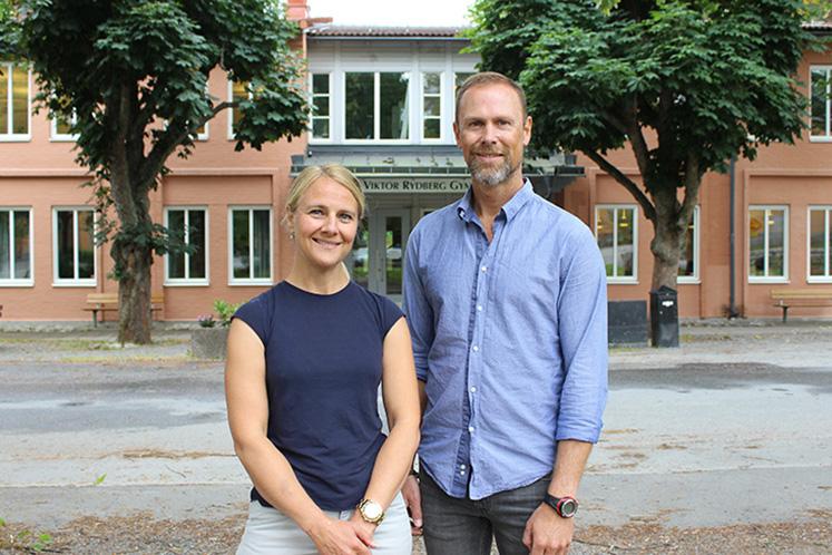 Mentorföretag på VRG Djursholm bra för arbetslivet